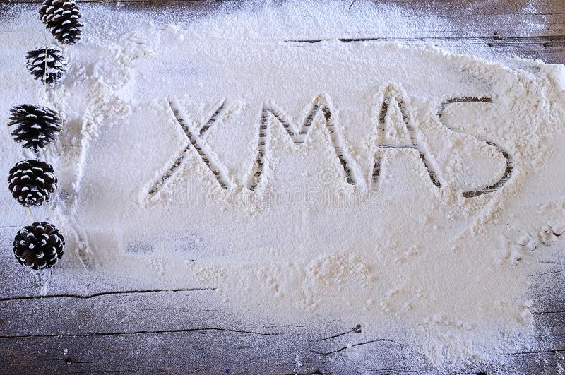 Χριστούγεννα στο αρτοποιείο στοκ εικόνα με δικαίωμα ελεύθερης χρήσης