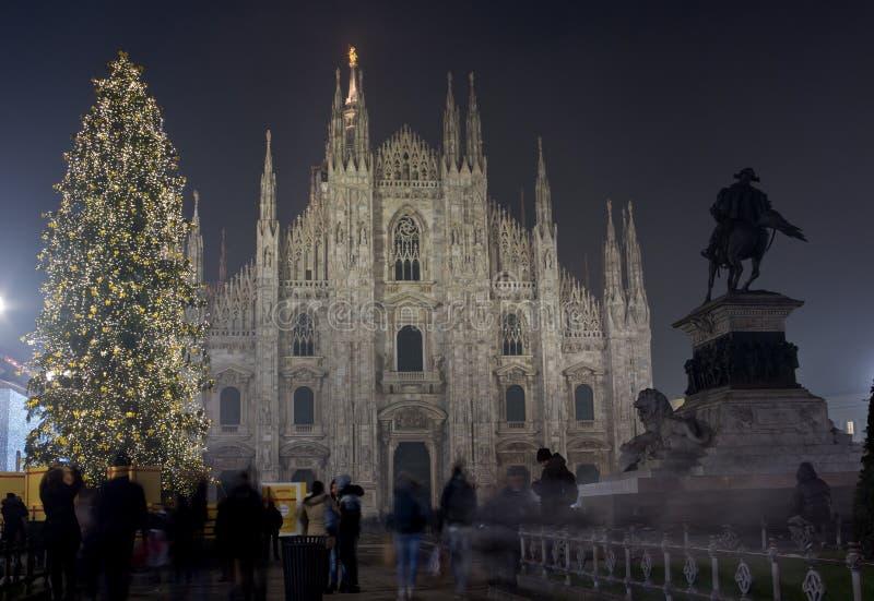 Χριστούγεννα στο Μιλάνο στοκ εικόνες