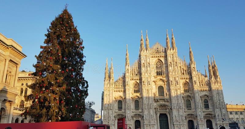 Χριστούγεννα στο Μιλάνο στοκ φωτογραφίες