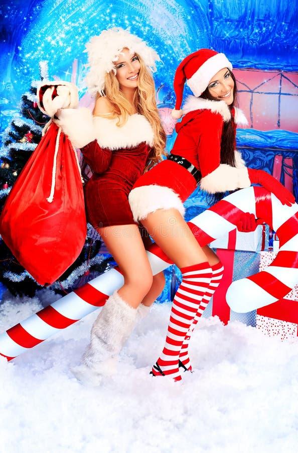 Χριστούγεννα συμβαλλόμ&epsil στοκ εικόνα