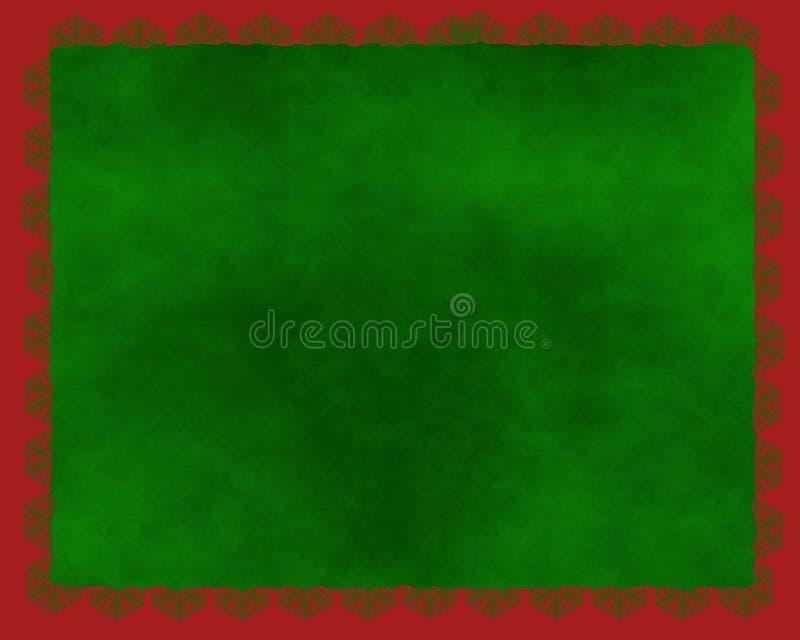 Download Χριστούγεννα συνόρων απεικόνιση αποθεμάτων. εικονογραφία από πράσινος - 1527417