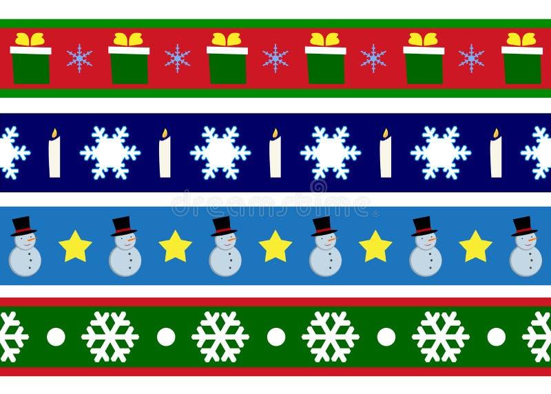 Χριστούγεννα συνόρων απεικόνιση αποθεμάτων