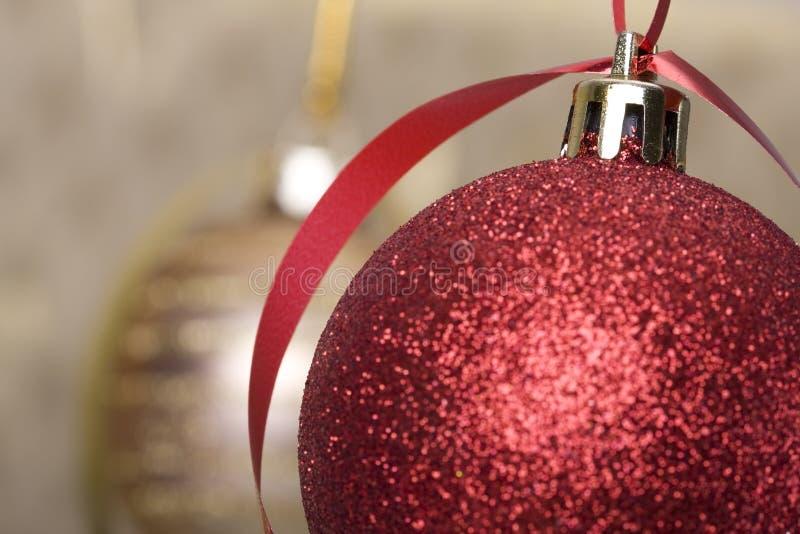 Χριστούγεννα σφαιρών ανα&sigma στοκ φωτογραφίες