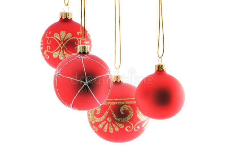 Χριστούγεννα σφαιρών στοκ εικόνα με δικαίωμα ελεύθερης χρήσης