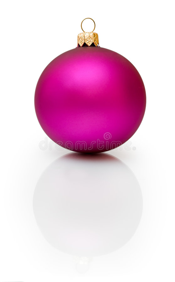 Download Χριστούγεννα σφαιρών στοκ εικόνες. εικόνα από πορφυρός - 1530378