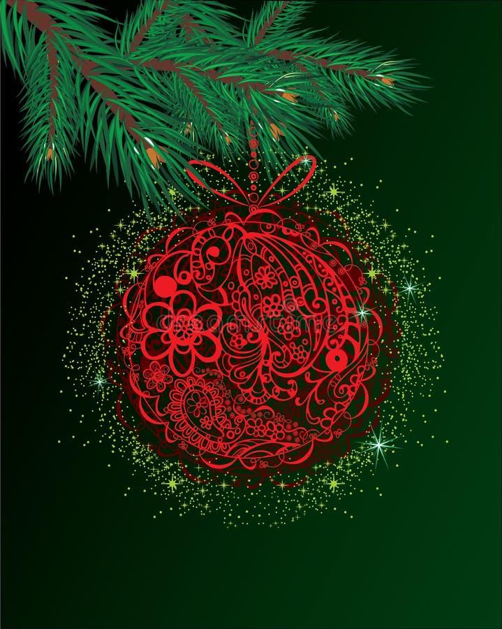 Download Χριστούγεννα σφαιρών διανυσματική απεικόνιση. εικονογραφία από εποχιακός - 22787180