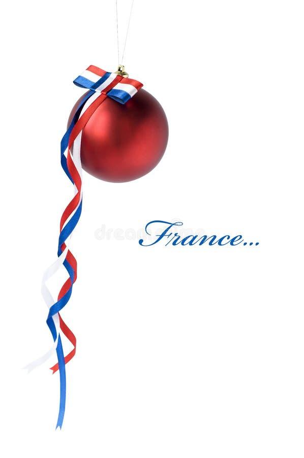 Χριστούγεννα της Γαλλία&si στοκ εικόνα