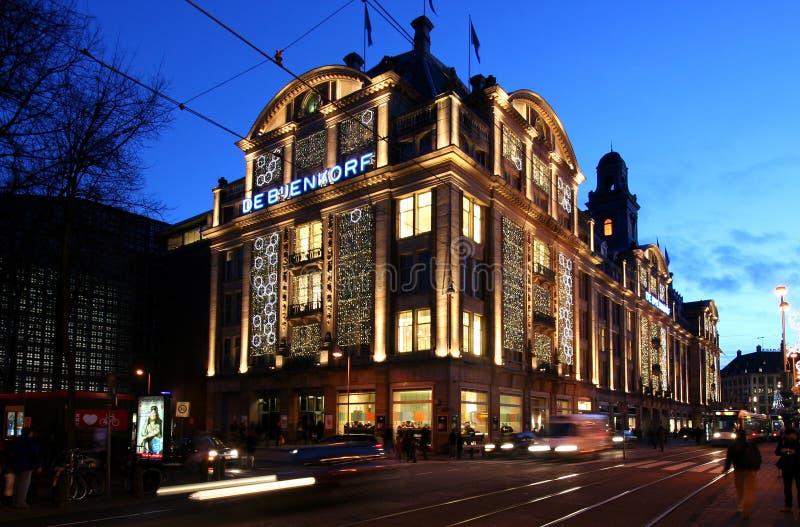 Χριστούγεννα του Άμστερνταμ στοκ εικόνα με δικαίωμα ελεύθερης χρήσης
