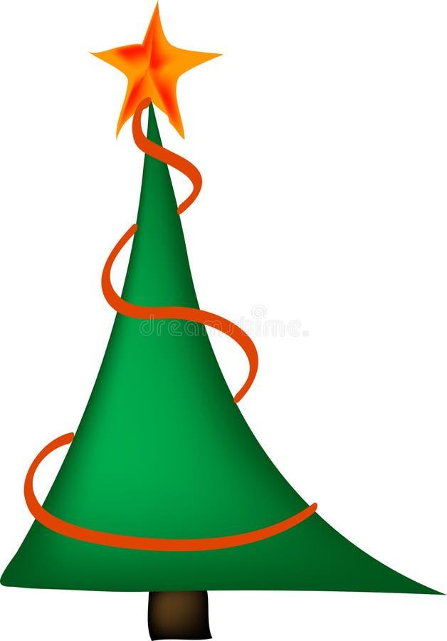 Χριστούγεννα τρία διανυσματική απεικόνιση