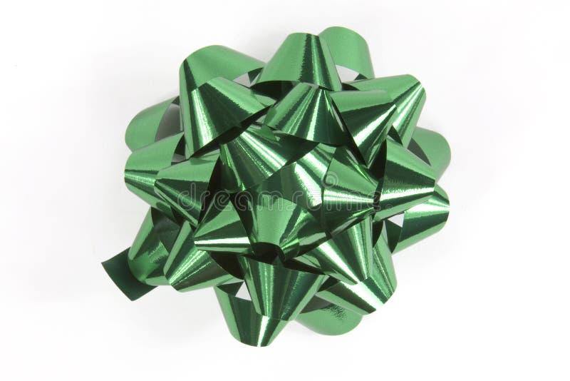 Download Χριστούγεννα τόξων πράσινα στοκ εικόνα. εικόνα από δώρο - 1532791