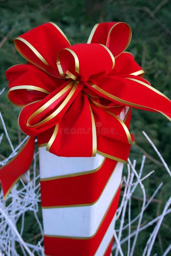 Download Χριστούγεννα τόξων στοκ εικόνα. εικόνα από αρκετά, καραμέλα - 375157