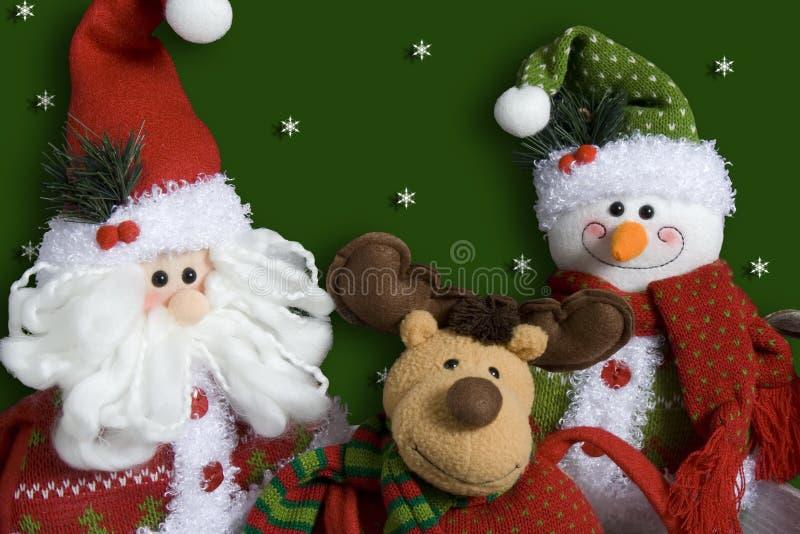 Χριστούγεννα χαρακτήρων στοκ εικόνες με δικαίωμα ελεύθερης χρήσης