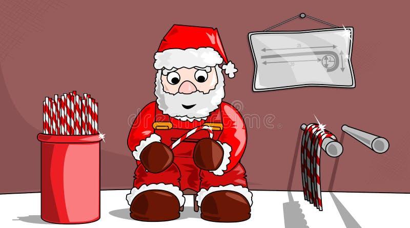 Χριστούγεννα -Χριστούγεννο-candysticks στοκ εικόνες με δικαίωμα ελεύθερης χρήσης