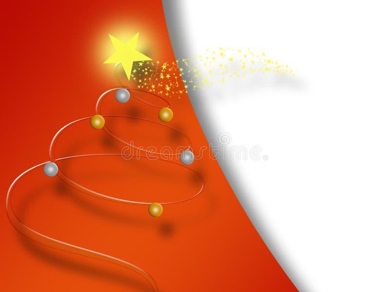 Χριστούγεννα 02 καρτών απεικόνιση αποθεμάτων