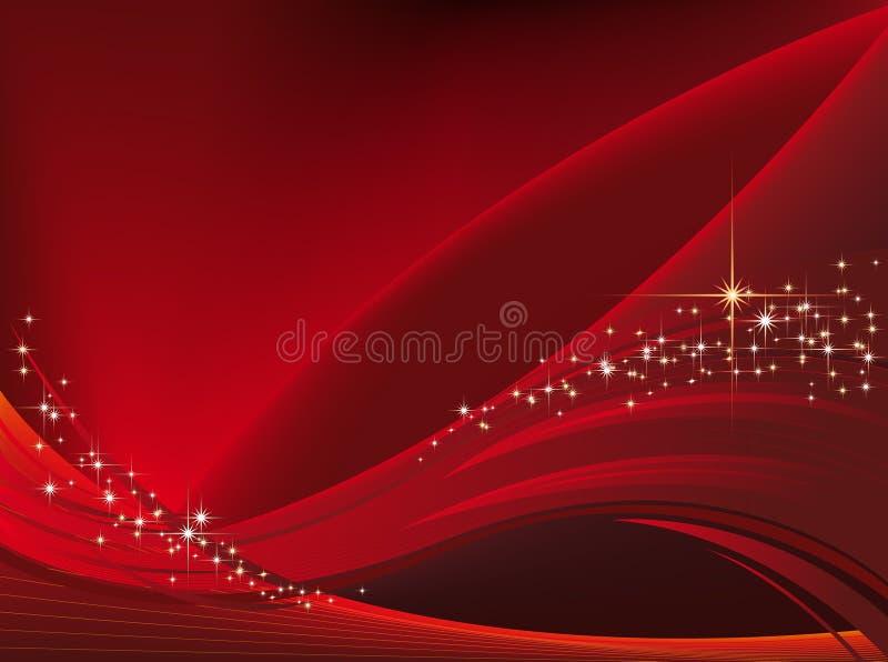 Χριστούγεννα 03 ανασκόπηση&si διανυσματική απεικόνιση