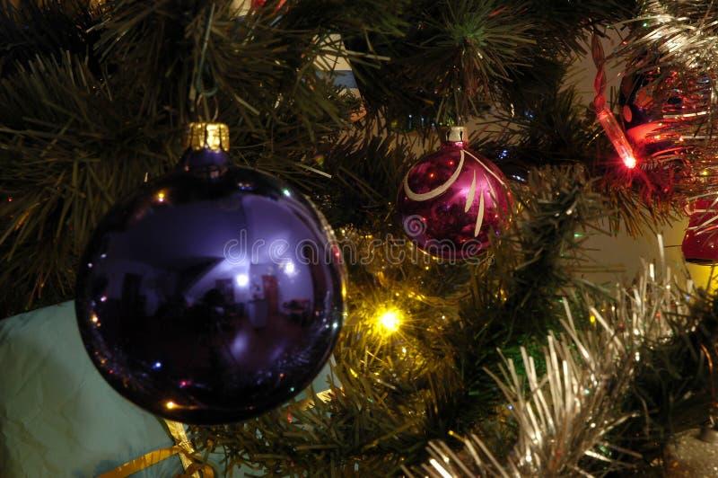 Χριστούγεννα 04 σφαιρών Στοκ φωτογραφίες με δικαίωμα ελεύθερης χρήσης