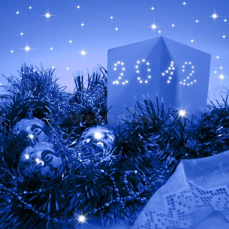 Χριστούγεννα 2012 καρτών στοκ φωτογραφία με δικαίωμα ελεύθερης χρήσης