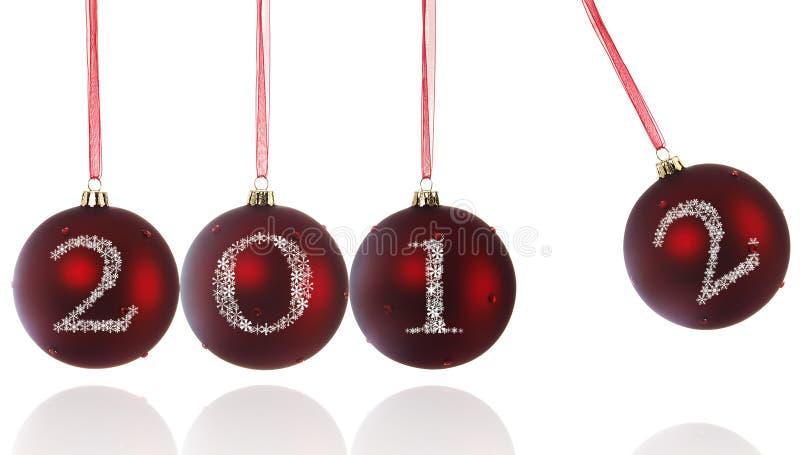 Χριστούγεννα 2112 σφαιρών στοκ εικόνα με δικαίωμα ελεύθερης χρήσης