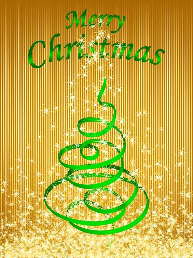 Χριστούγεννα 3 καρτών διανυσματική απεικόνιση