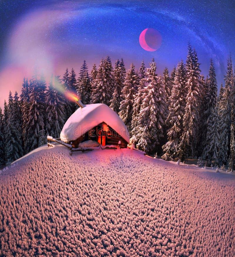 Χριστούγεννα Carpathians στοκ φωτογραφία με δικαίωμα ελεύθερης χρήσης