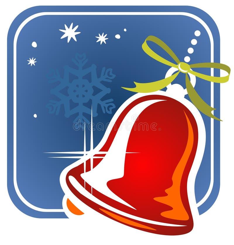 Χριστούγεννα handbell ελεύθερη απεικόνιση δικαιώματος