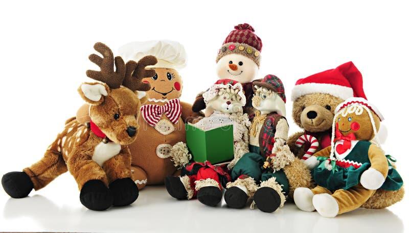 Χριστούγεννα Managerie στοκ εικόνες