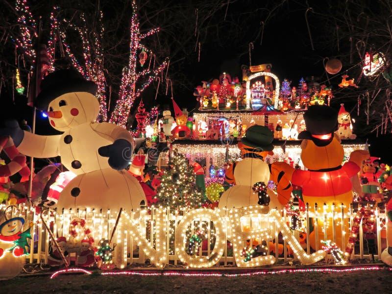 Χριστούγεννα Noel στη Βιρτζίνια στοκ εικόνες