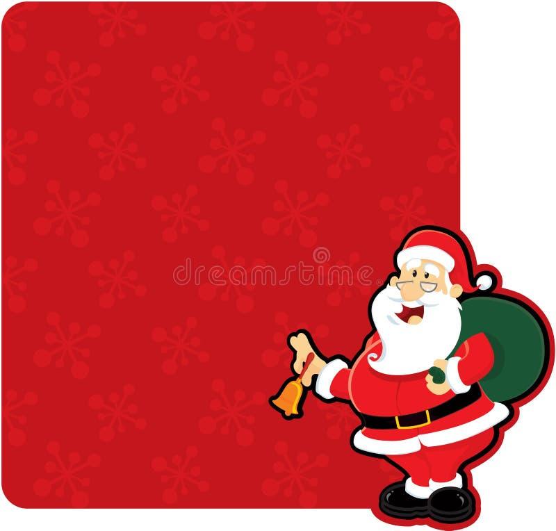 Χριστούγεννα santa ελεύθερη απεικόνιση δικαιώματος
