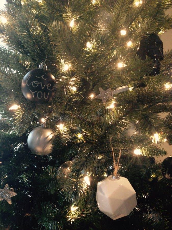 Χριστούγεννα Sparkly στοκ φωτογραφία με δικαίωμα ελεύθερης χρήσης