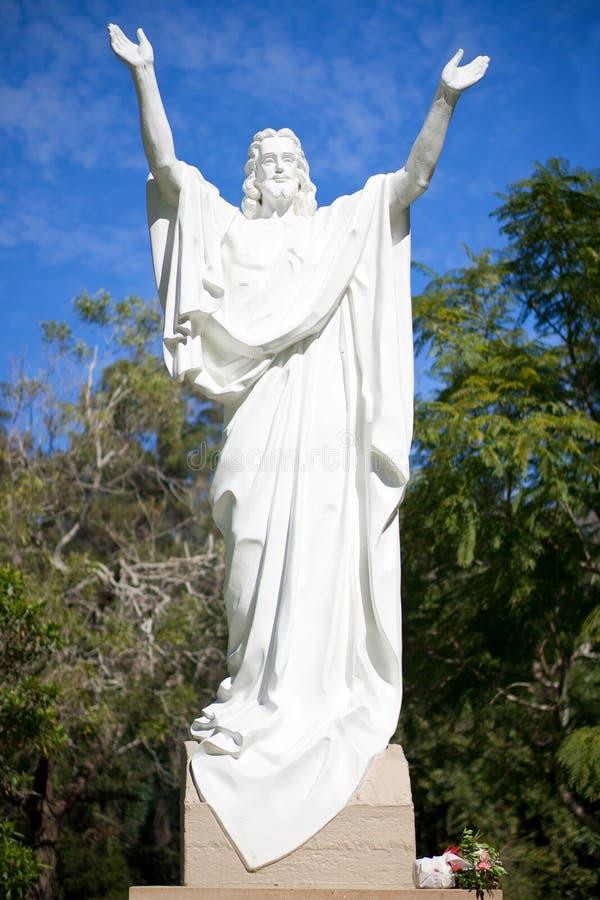 Χριστός Ιησούς αυξημένος στοκ εικόνες