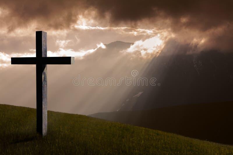Χριστός ο διαγώνιος Ιησ&omicron στοκ φωτογραφία