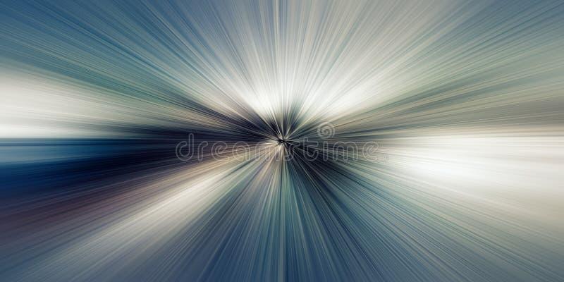 Χρονική στρέβλωση, ελαφριά ταχύτητα, υπόβαθρο έννοιας χρονικού ταξιδιού ελεύθερη απεικόνιση δικαιώματος