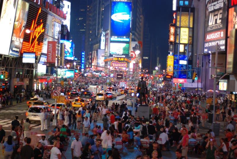 Χρονικό τετράγωνο - πόλη της Νέας Υόρκης στοκ φωτογραφία