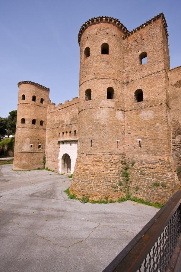2000χρονος τοίχος πόλεων στοκ εικόνα