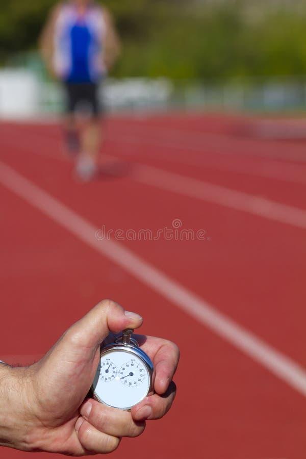 χρονόμετρο με διακόπτη έναρ στοκ εικόνες