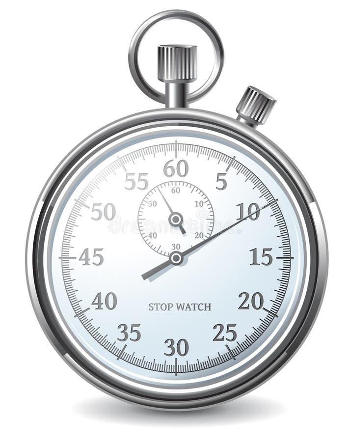 χρονόμετρο με διακόπτη διανυσματική απεικόνιση