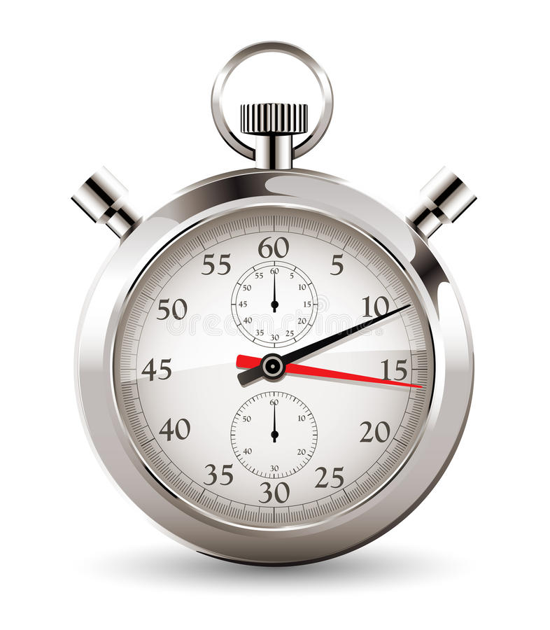 Χρονόμετρο με διακόπτη - χρονική έννοια απεικόνιση αποθεμάτων