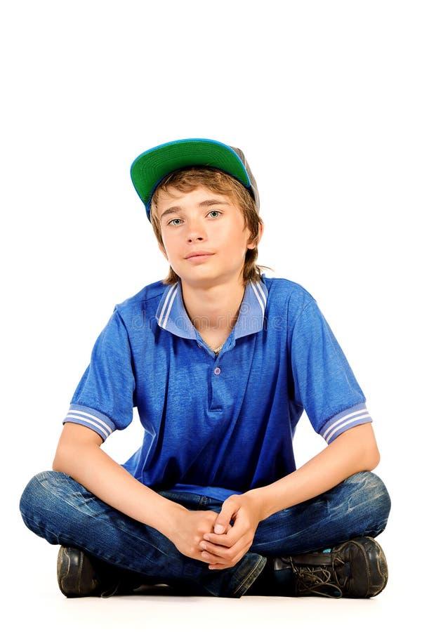 14 χρονών αγόρι στοκ εικόνα με δικαίωμα ελεύθερης χρήσης