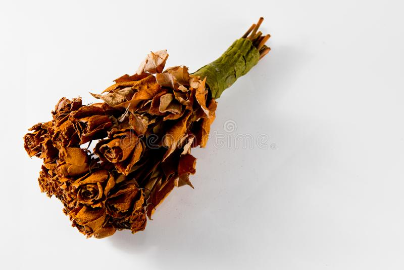 20 χρονών γαμήλια ανθοδέσμη 21 τριαντάφυλλων - ξηρά βασίλισσα όλης της χλωρίδας στοκ εικόνες