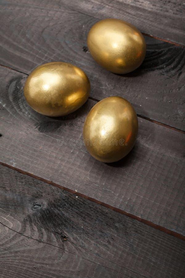 Χρυσά αυγά στοκ φωτογραφία με δικαίωμα ελεύθερης χρήσης