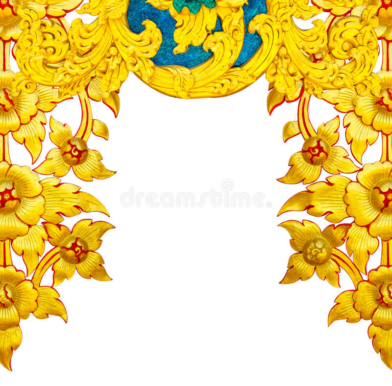 Χρυσά λουλούδια ΣΤΟΚΩΝ στοκ εικόνα με δικαίωμα ελεύθερης χρήσης