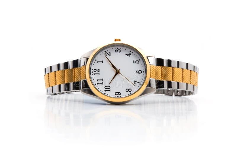 χρυσά ρολόγια στοκ φωτογραφία