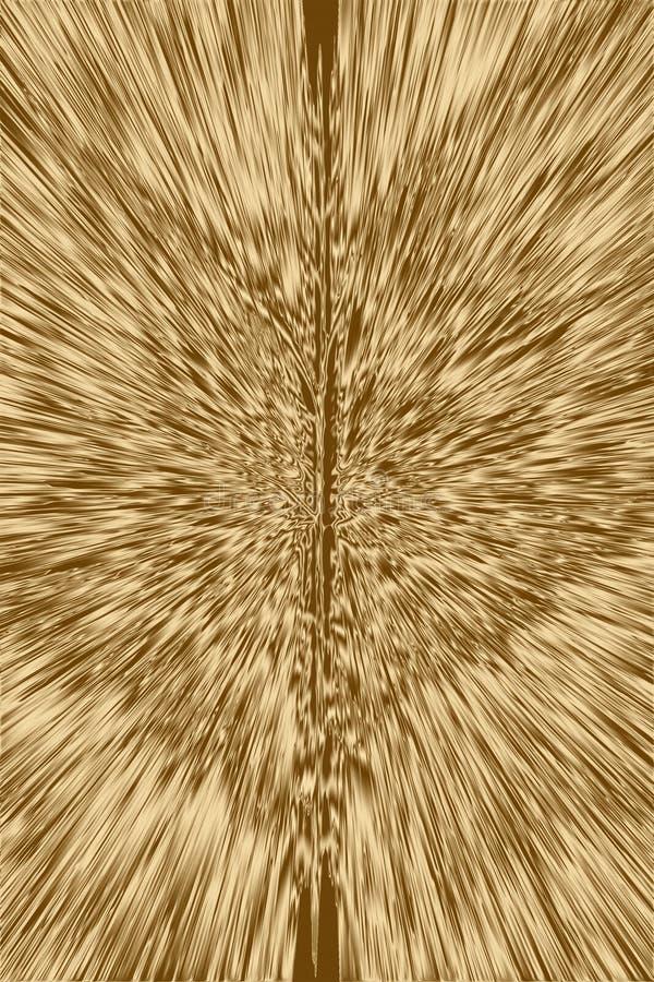 Χρυσές υπόβαθρο ακτίνων και σύσταση ακτίνων πυράκτωσης, starburst γραφικός ελεύθερη απεικόνιση δικαιώματος