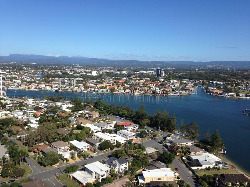 Χρυσή ακτή Αυστραλία στοκ φωτογραφίες