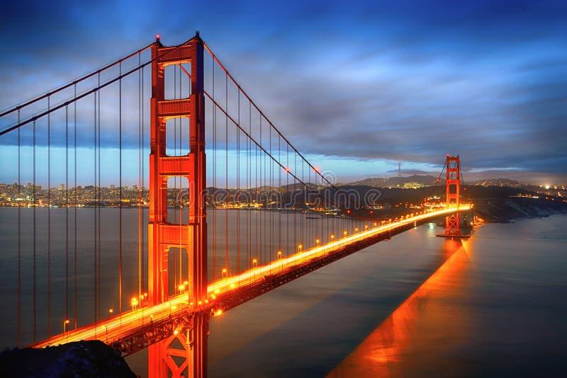 Χρυσή γέφυρα πυλών, Σαν Φρανσίσκο στοκ εικόνα με δικαίωμα ελεύθερης χρήσης