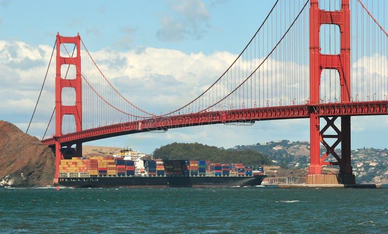 Χρυσή γέφυρα πυλών. στοκ εικόνες