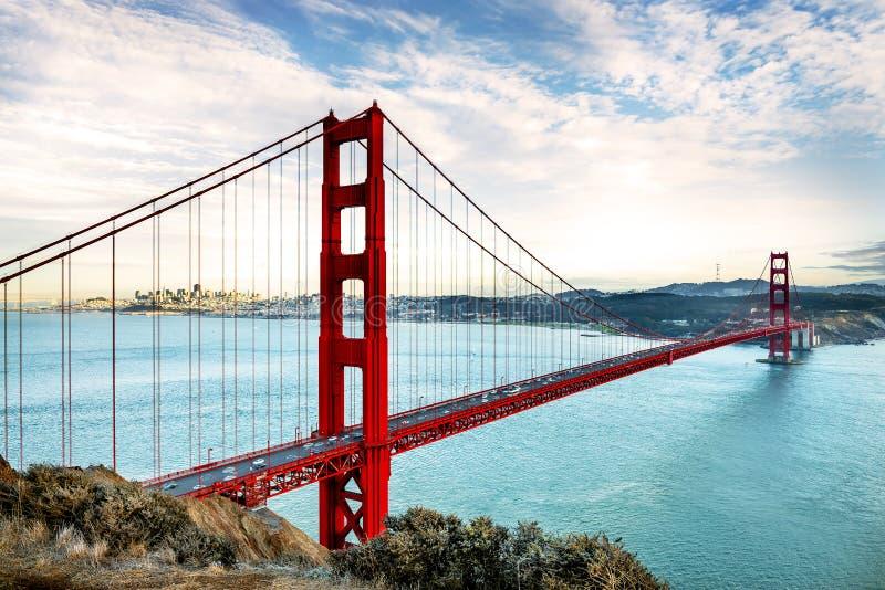 Χρυσή γέφυρα πυλών, Σαν Φρανσίσκο στοκ φωτογραφία με δικαίωμα ελεύθερης χρήσης