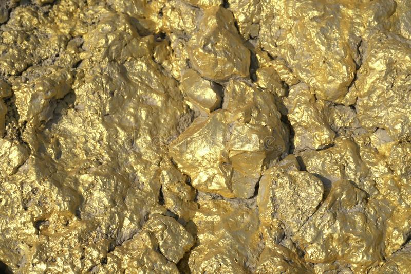 Χρυσή εξαγωγή υποβάθρου κοσμήματος χρυσή στοκ φωτογραφίες