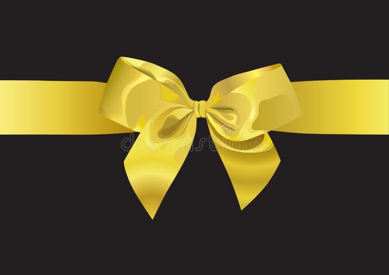 χρυσή κορδέλλα απεικόνι&sig ελεύθερη απεικόνιση δικαιώματος