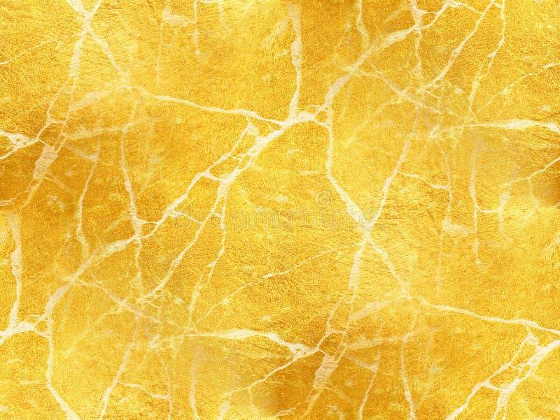 Χρυσή μαρμάρινη σύσταση - αφηρημένο υπόβαθρο στοκ φωτογραφία